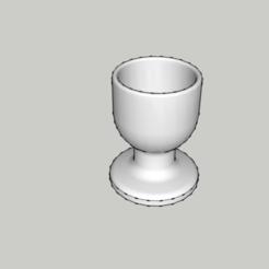 Télécharger STL Original Eggcup - coquetier - kitchen - food, 3ID