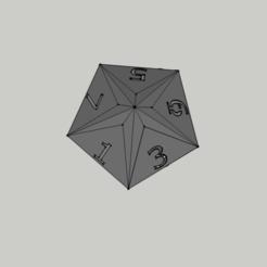 Imprimir en 3D Dice - 10 Faces / Faces Dados 10, 3ID