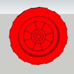 Objet 3D Lego duplo - Roue - Wheel, 3ID