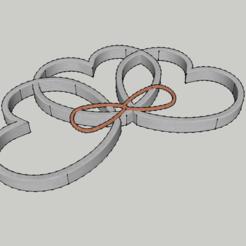 diseños 3d gratis cuello de encaje - - colgante de San Valentín, 3ID