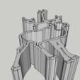 Renne 1.png Download STL file Cookie Cutter - Reindeer / Take away piece reinder • 3D printer model, 3ID