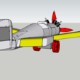 Archivos STL Lego - Plane - Avion - Con clip - Duplo, 3ID