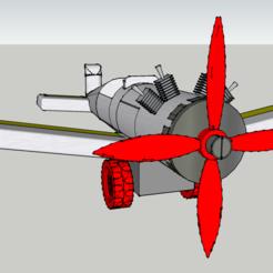 Imprimir en 3D Lego - Plane - Avion - Con clip - Duplo, 3ID