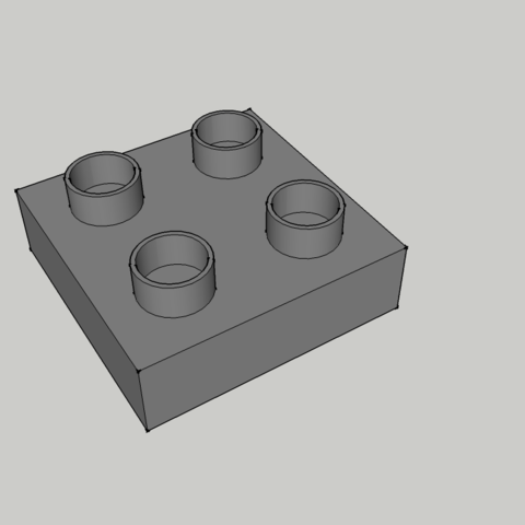 Pièce 4x - Fin.png Download STL file Play Piece Lego Duplo Model Type 4x - End • 3D printer design, 3ID
