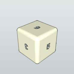 Fichier 3D gratuit Dé - Dice, 3ID