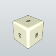 Dé 1.png Download free STL file De - Dice • 3D printer template, 3ID