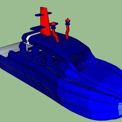 Bateau Vue1.jpg Télécharger fichier STL Bateau / boat • Design à imprimer en 3D, 3ID