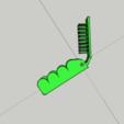 Descargar archivos STL Peine / cepillo multifunción - Multifuction peine / cepillo, 3ID
