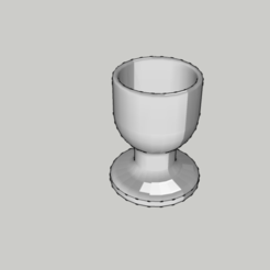 STL Original Eggcup - coquetier - kitchen - food, 3ID