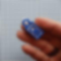 Lock ring.stl Download free STL file Key tags, needing no key ring • Model to 3D print, Lykle