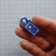 keytag_1.11.1.png Download free STL file Key tags, needing no key ring • Model to 3D print, Lykle