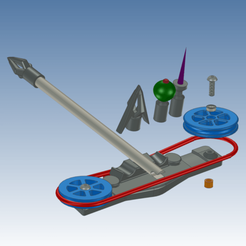 Carmen crossbow.png Download STL file Carmen's crossbow from the movie Jiu Jitsu • 3D print template, Lykle