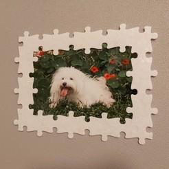 20201121_182759.jpg Télécharger fichier STL gratuit Cadre photo puzzle modulable • Plan pour impression 3D, rom2708