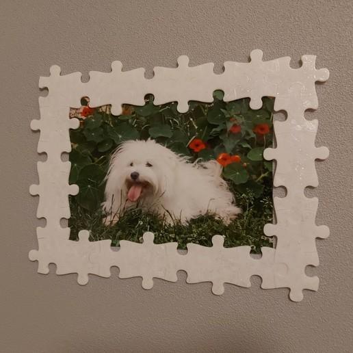 Télécharger fichier STL gratuit Cadre photo puzzle modulable • Plan pour impression 3D, rom2708