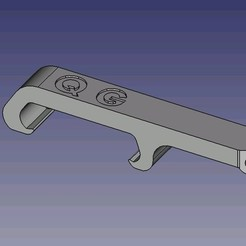 Download 3D printing designs Q G pocket bottle opener, dsf