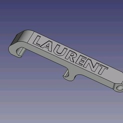 Download 3D printing models Laurent bottle opener, dsf