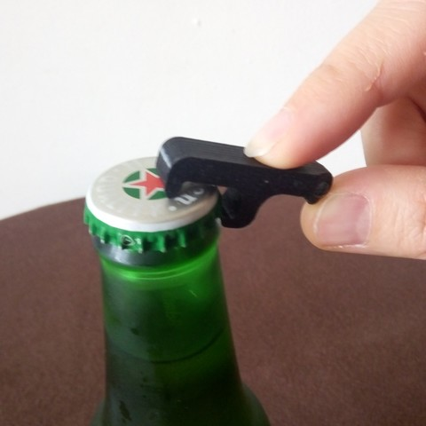 Free 3d print files mini pocket bottle opener, dsf