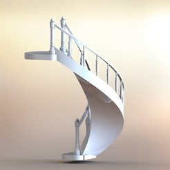 Download 3D printer files Castle staircase, Castle staircase, cncproddanny