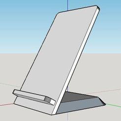 Descargar diseños 3D gratis Soporta el smartphone 1.0, malix3design