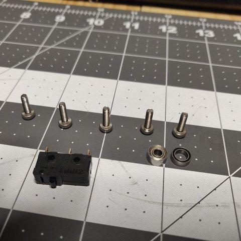 IMG_20190102_191359.jpg Télécharger fichier STL gratuit Capteur de faux-rond du filament (roulement à billes) • Design pour impression 3D, KrisCubed