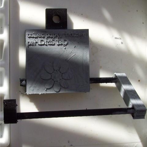 ppt 002 (1).JPG Download STL file Toilet paper holder • 3D printable model, dmsi3d