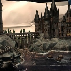 3D printing model Hogwarts School of Witchcraft, pyrac
