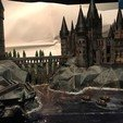 3D printing model Hogwarts School of Witchcraft, pyrac