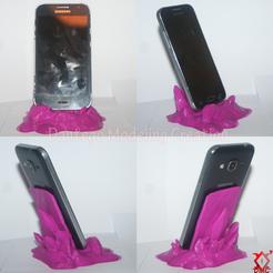 Télécharger fichier 3D Porte Téléphone Cristaux By Dantego ( SAMSUNG, WIKO, IPHONE ...), Dantego