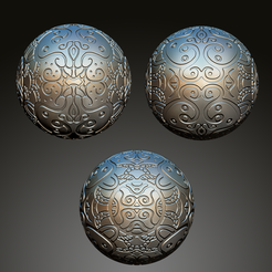 Free stl files Sculpted Sphere / Sphere Sculptee by Dantego, Dantego