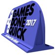 Free 3D printer model Support to the SGDQ 2017, Dantego