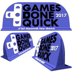 Download free 3D model Support to the SGDQ 2017, Dantego