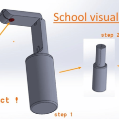 Download free 3D printer model School visualizer design (School project), TheFloyd
