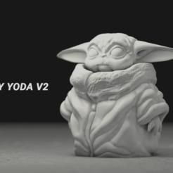 Descargar modelo 3D gratis Bebé Yoda, Lewj
