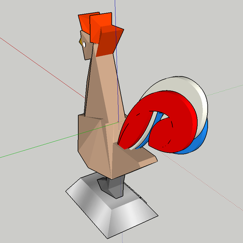 2018-01-01_15h03_45.png Download free STL file rooster (#STRATOMAKER contest) • 3D print object, 0rion