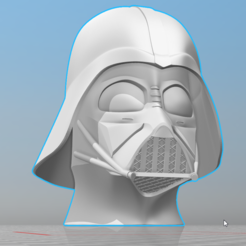 Fichier impression 3D casque dark vador star wars, 0rion