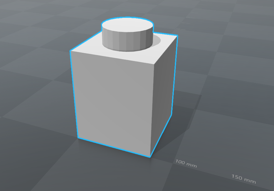 2017-06-27_12h50_20.png Download free STL file Piece LEGO 1x1 Top • 3D printing model, 0rion