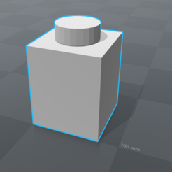 Download free 3D printer model Piece LEGO 1x1 Top, 0rion