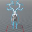 2017-07-11_17h05_47.png Download free STL file Lowpoly deer • 3D printer design, 0rion