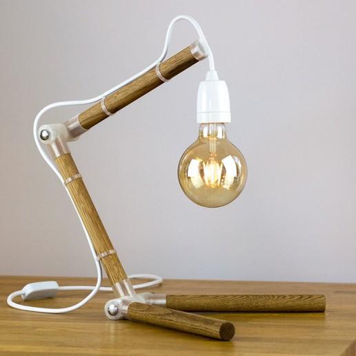 Télécharger fichier STL gratuit Lampe de table en bois, Frans