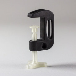 Free 3D print files Optimized G-clamp, Frans
