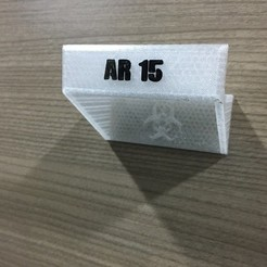 Download free STL files AR15 Stand, MVSValero
