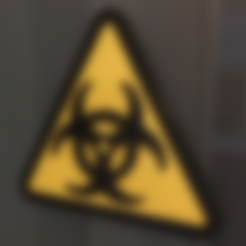 Free 3D file Biohazard Door Sign, MVSValero