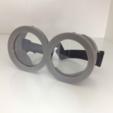 Capture d'écran 2017-02-28 à 09.48.41.png Télécharger fichier STL gratuit Lunettes de Minions à deux yeux • Objet imprimable en 3D, MVSValero