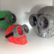 Download free 3D print files Minions Goggle 2 Eyes, MVSValero