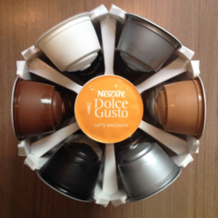 Free Dolce Gusto Capsule Holder 3D model, MVSValero