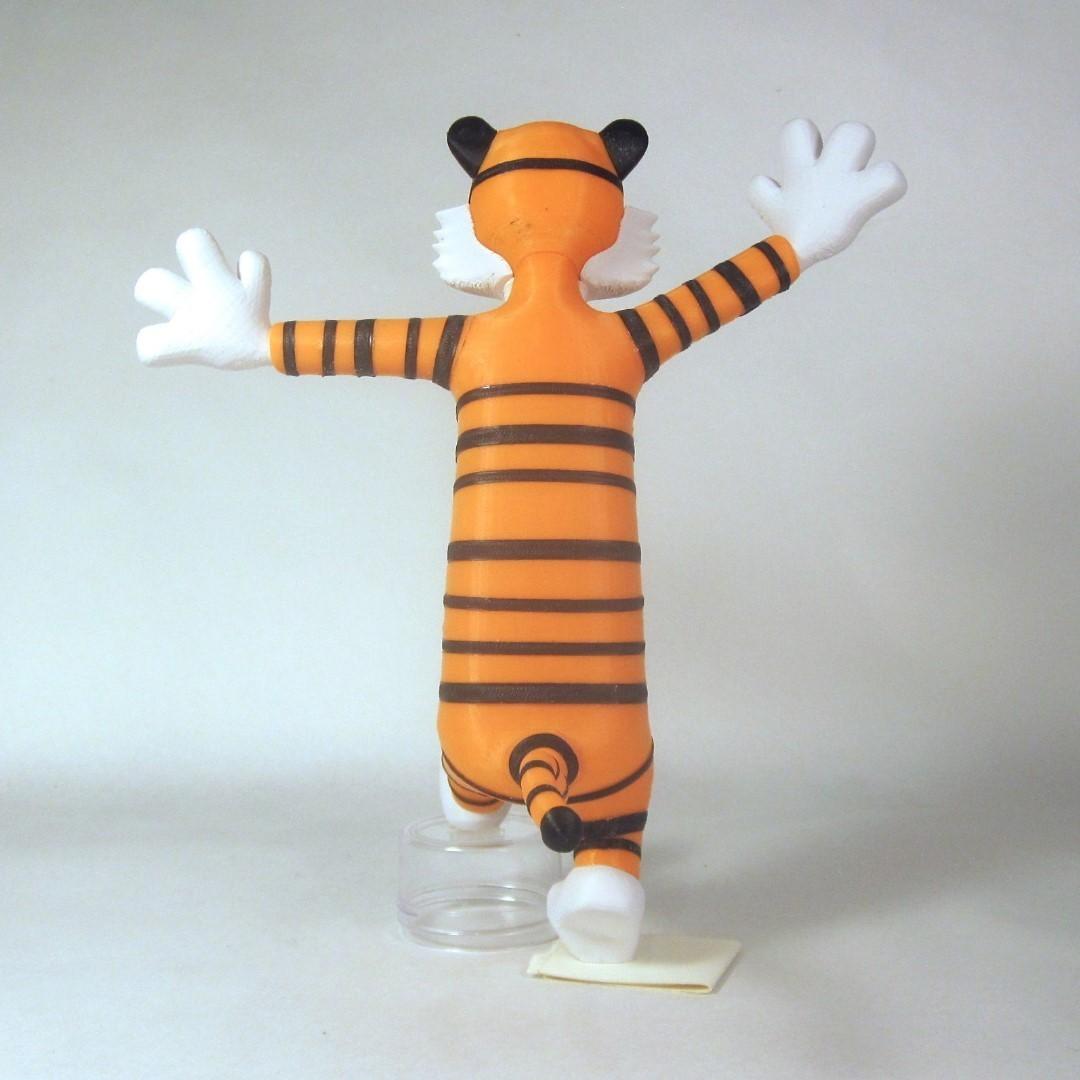 hobbes back1.jpg Download free STL file Hobbes • 3D print object, reddadsteve