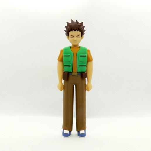 Download free 3D printer designs Brock, reddadsteve