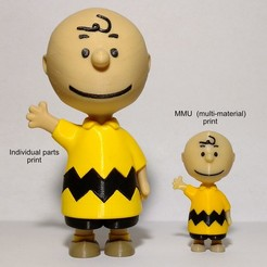 Download free 3D model Charlie Brown - MMU, reddadsteve
