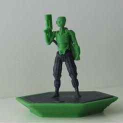 Captious Trooper1.jpg Download free STL file KORDRAN CONFLICT - DEMO MINIATURE 2 • 3D printing object, reddadsteve