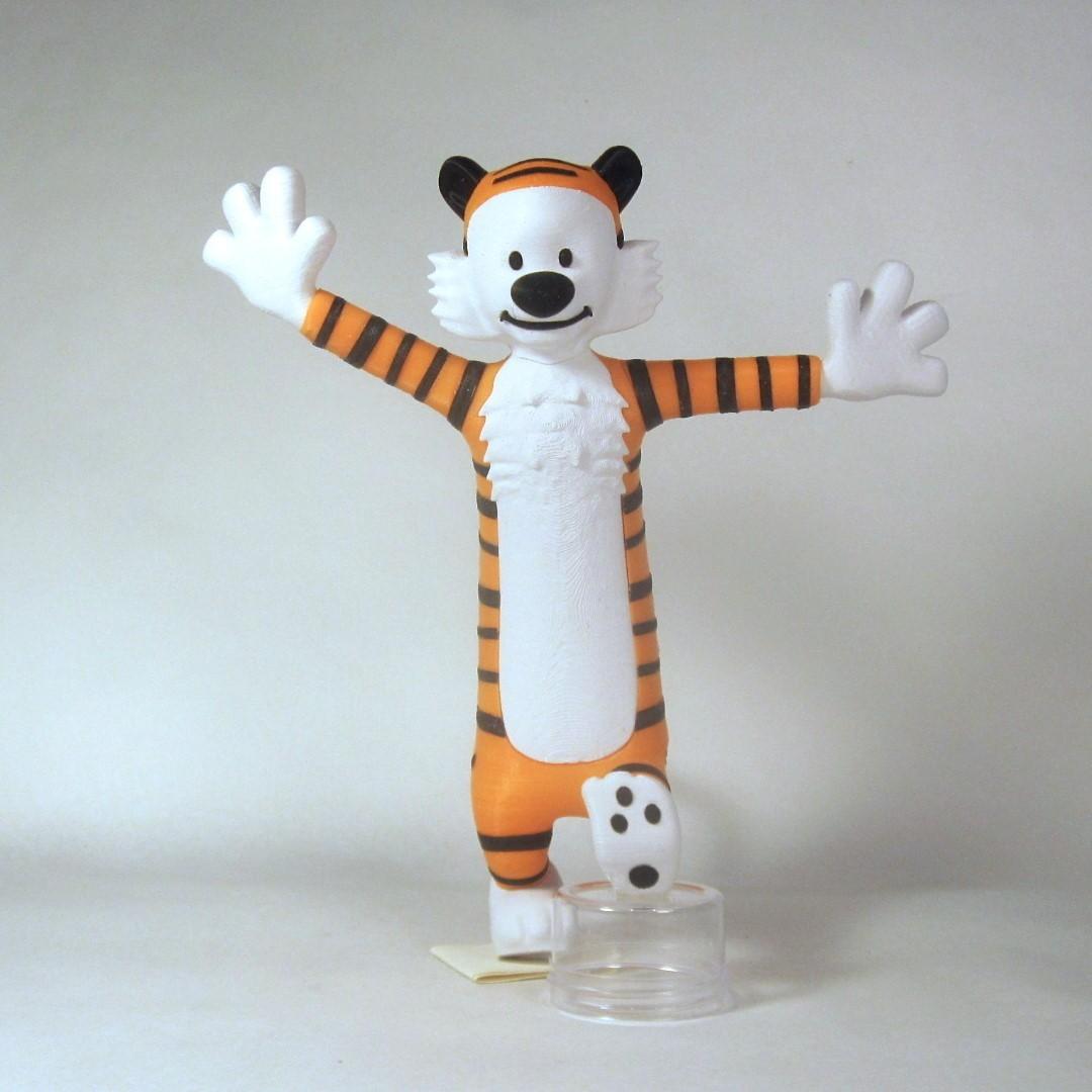 hobbes front1.jpg Download free STL file Hobbes • 3D print object, reddadsteve